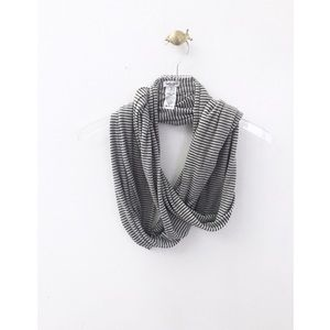 splendid / long striped infinity scarf